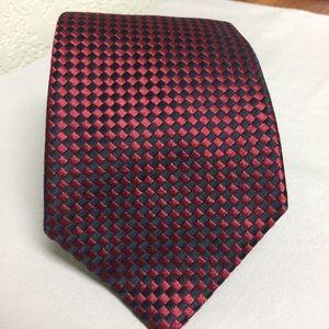 Charvert Tie Red/black
